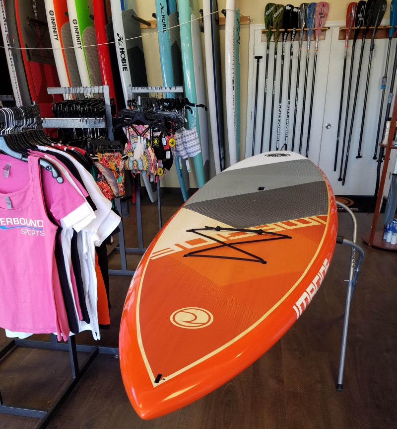 2017 Imagine Surf Crossover 11'0 Paddleboard – Wood Demo Board