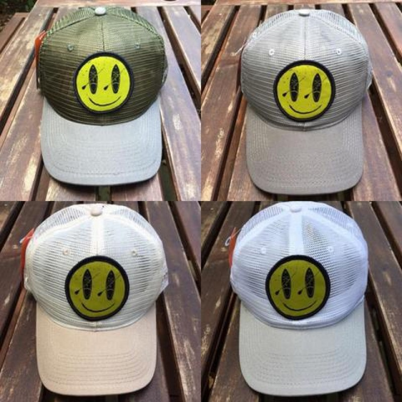 2017 EMOJI LOGO 6 PANEL FULL MESH TRUCKER  / Emoji LOGO FOAM TRUCKER