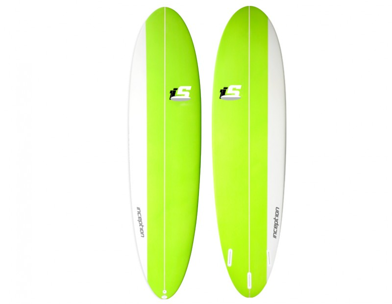 2017  Inception Funboard Green