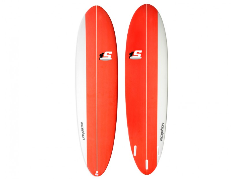 2017  Inception Funboard Red
