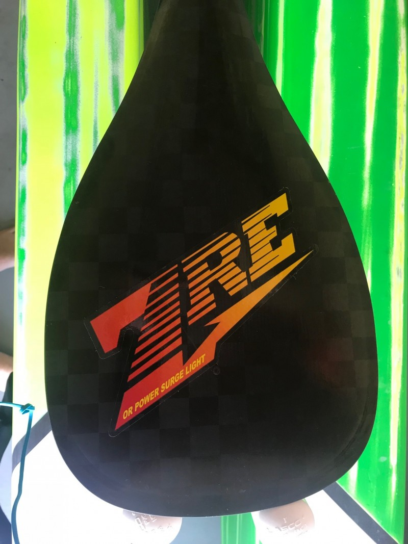 2018 ZRE Paddles - Power Surge Outrigger Carbon Light Weight Paddle